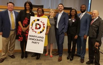 MD Dems Elect Maya Rockeymoore Cummings as Party Chair